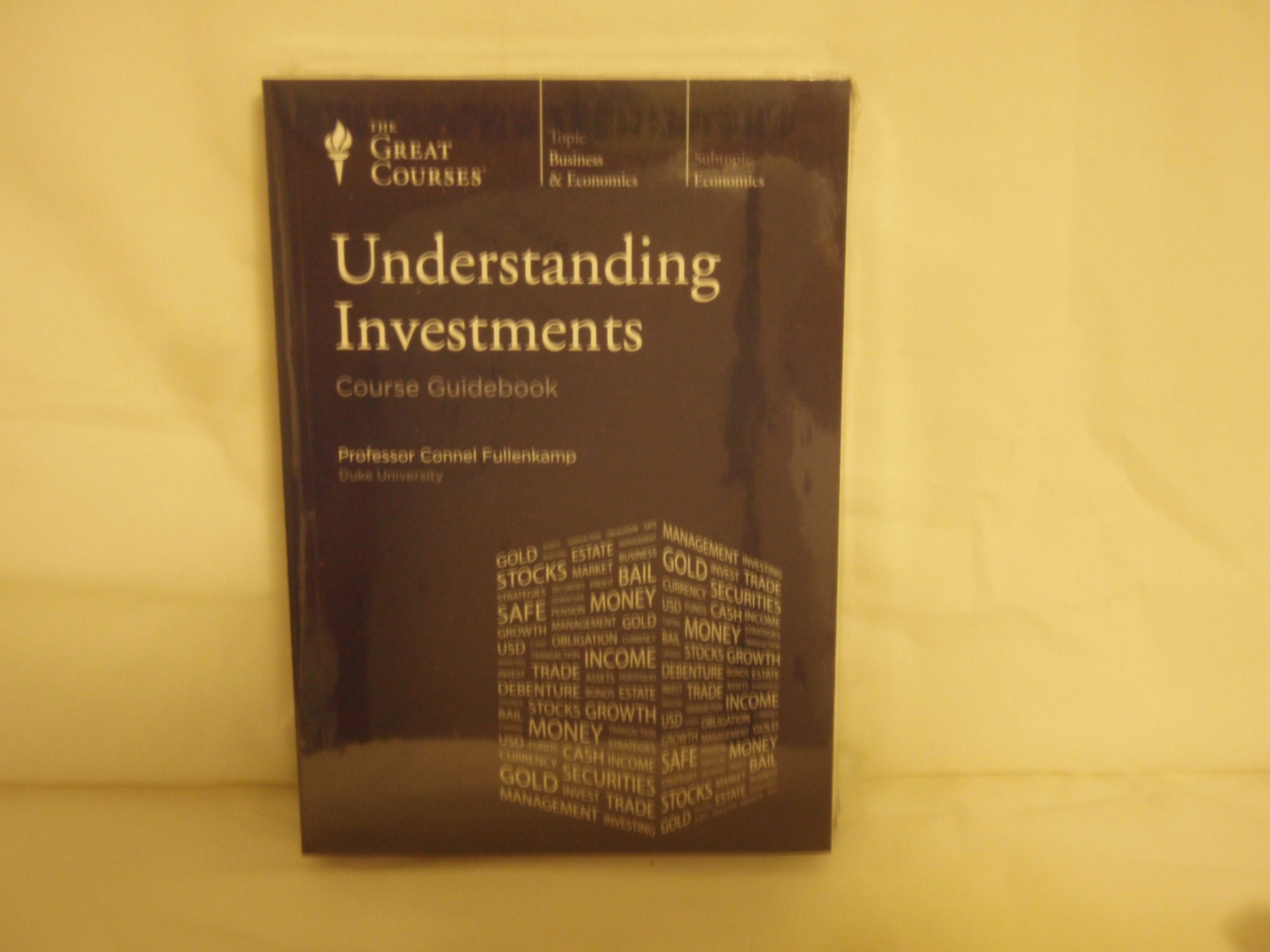 Download Great Courses (Teaching Company) Understanding Investments (Course Number 5724 DVD) pdf epub