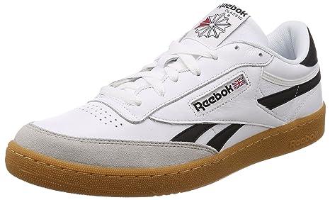Reebok Revenge Plus, Zapatillas de Tenis para Hombre, Blanco (White/Snowy Grey