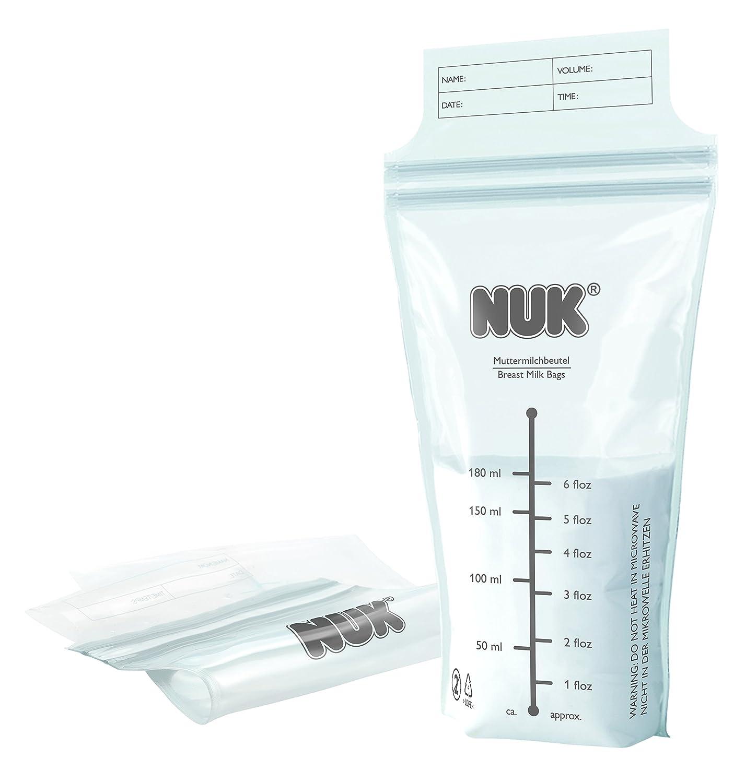 Nuk, 25 Sacchetti per la conservazine del latte materno 10750804
