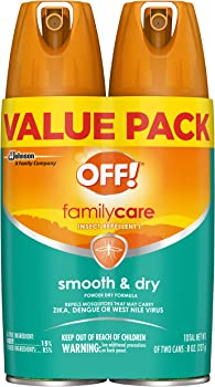 2-Count OFF FamilyCare Insect Repellent I Smooth & Dry (4 oz)