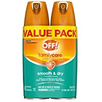 OFF! Family Care Insect & Mosquito Repellent I, Smooth & Dry Bug Spray for the Beach...