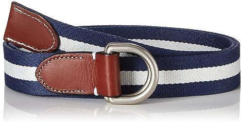 GANT Damen Gürtel O Striped Webbing Belt