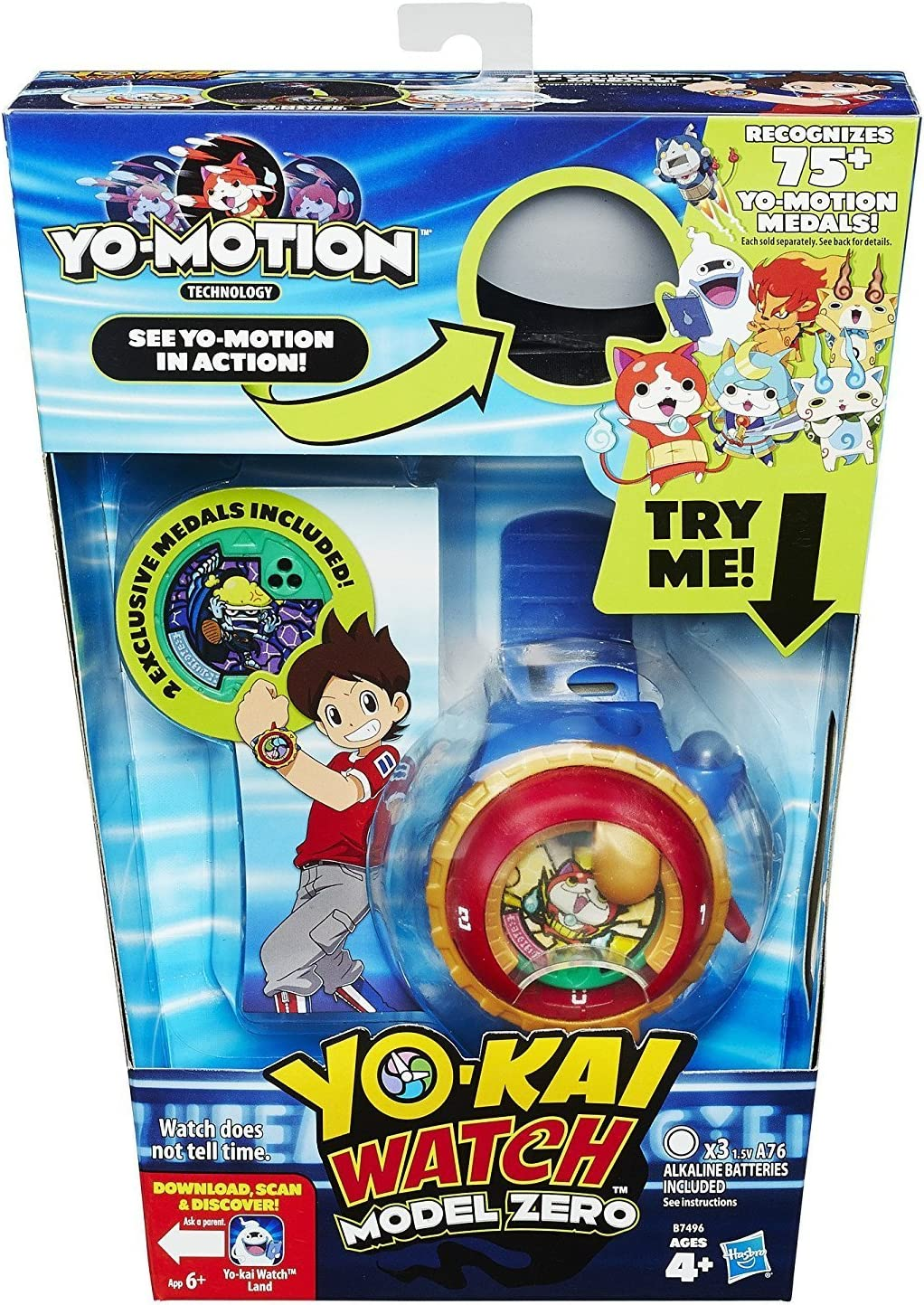 Yo-Kai Reloj Modelo Cero