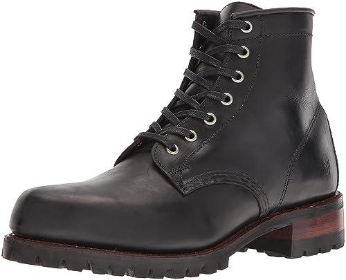 6a285cc4eb961 Frye Men s Addison Lug Lace up Ankle Bootie  Amazon.co.uk  Shoes   Bags