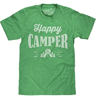 a972a741aa81 Amazon.com: Mens Happy Camper Shirt Funny Camping Shirts Cool ...