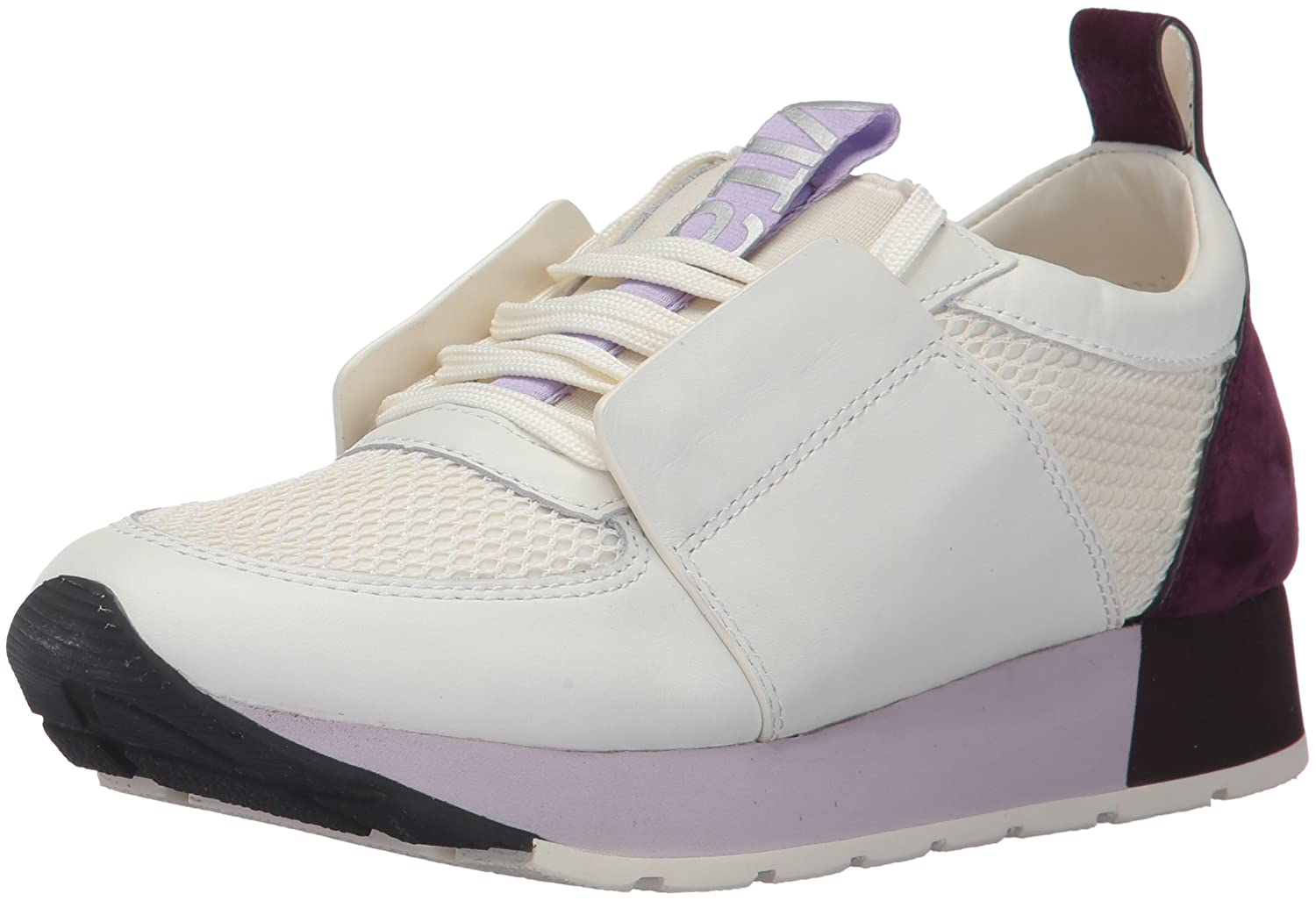 Dolce Vita Women's Yana Sneaker B071WLHLZC 10 B(M) US|White/Purple Leather