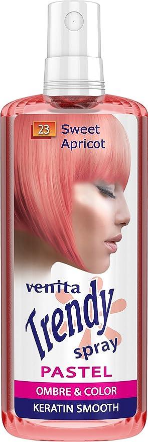 Venita TRENDY Pastel Tinte en spray Ombre semipermanente 200 ml (23 albaricoque)