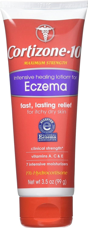 Cortizone-10 Intensive Healing Lotion Eczema 3.50 oz (Pack of 2)