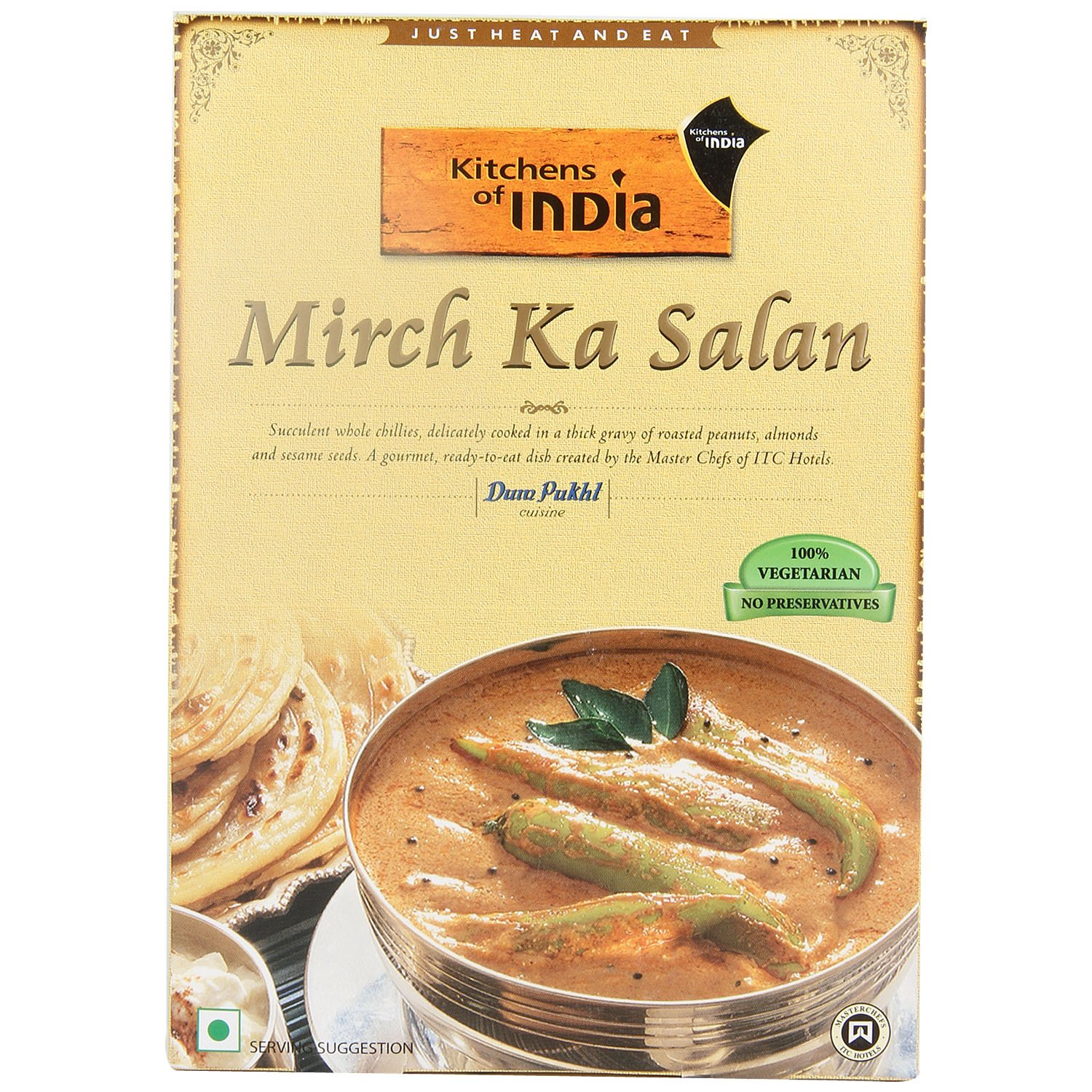 Kitchens Of India Mirch Ka Salan, 285g: Amazon.in: Grocery U0026 Gourmet Foods