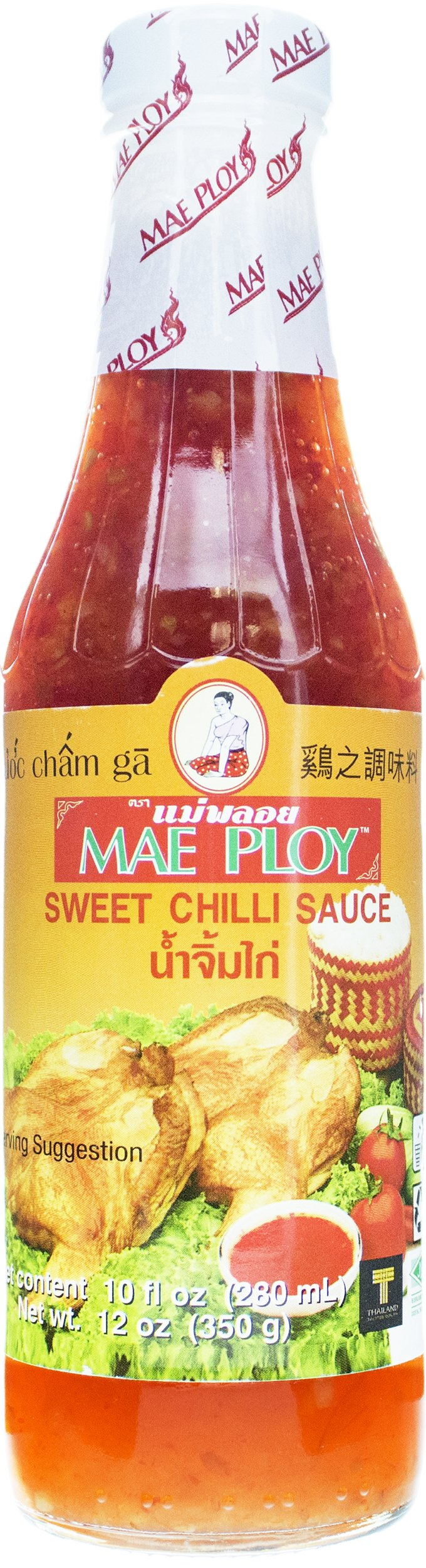 Mae Ploy Sweet Chili Sauce, 12 oz