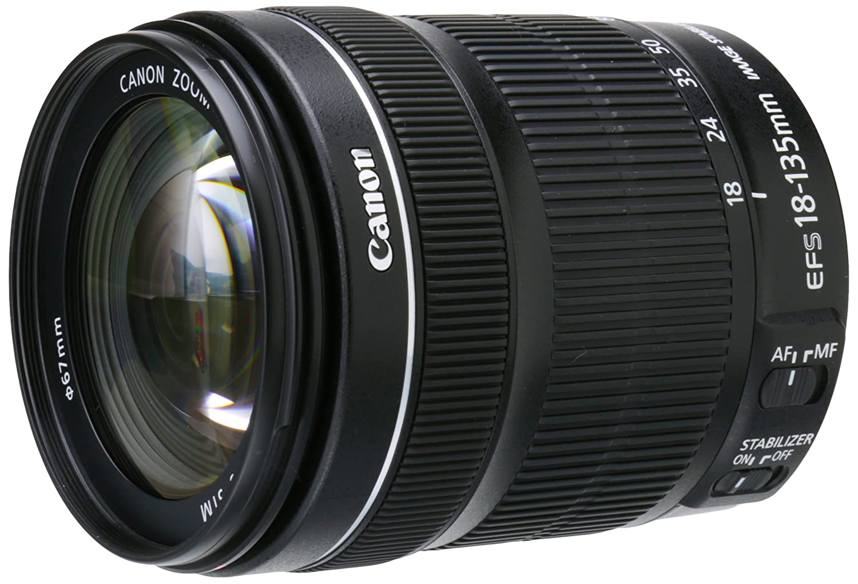 Amazon.com : Canon EF-S 18-135mm f/3.5-5.6 IS STM Lens(White box ...