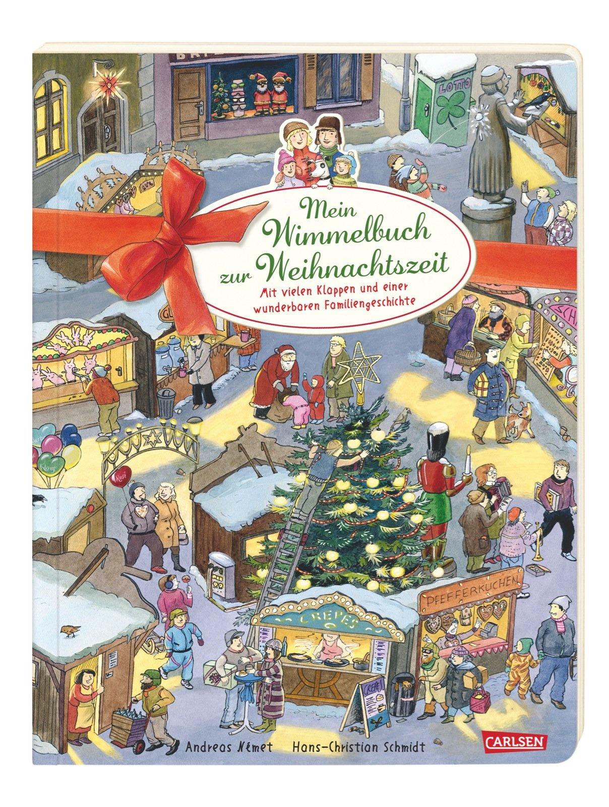 Mein Wimmelbuch zur Weihnachtszeit: Mit vielen Klappen und einer wunderbaren Familiengeschichte