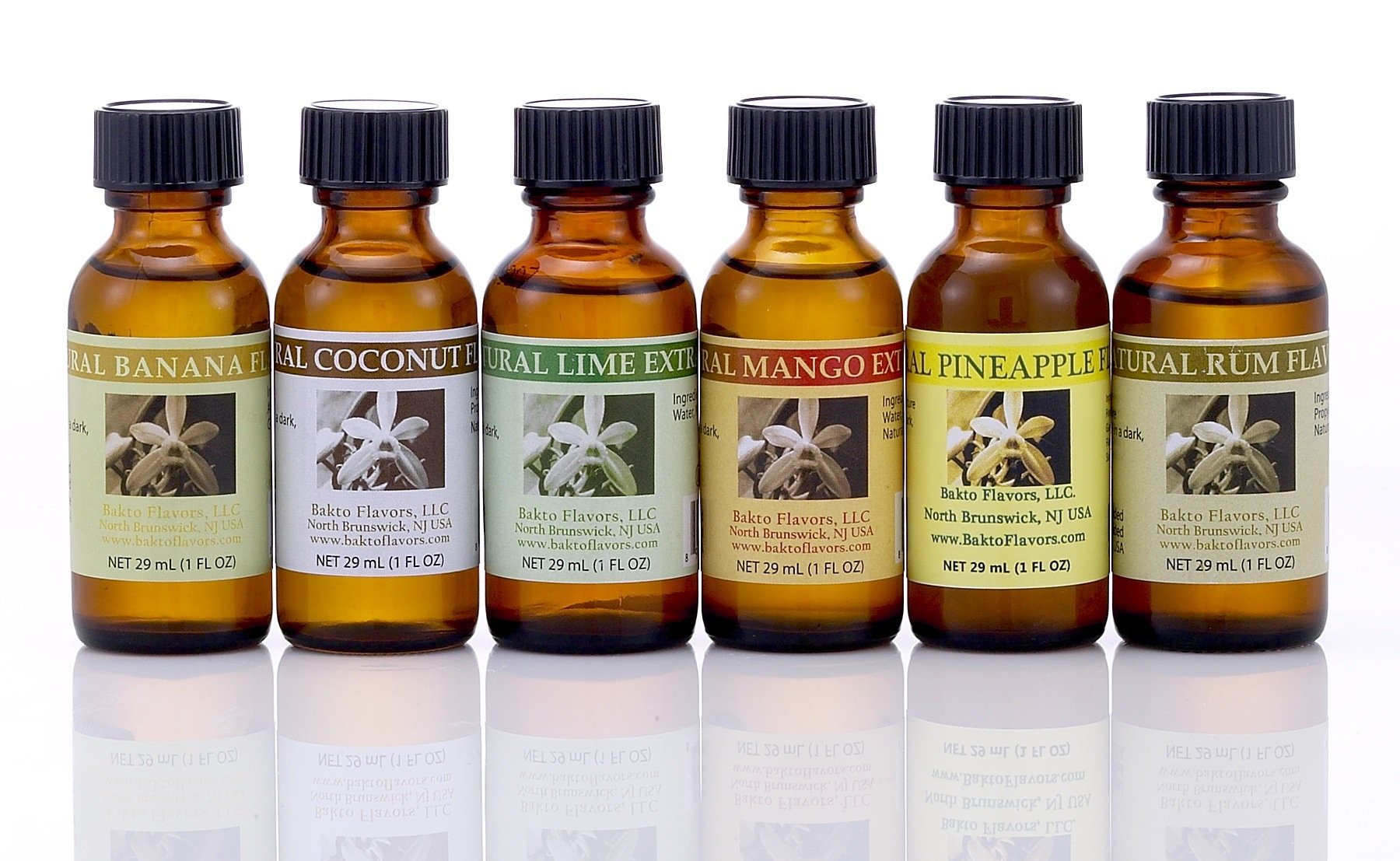 Bakto Flavors - Natural Flavors & Extracts - PICK YOUR OWN FLAVORS - Box of 6 - PLEASE SCROLL DOWN TO''Product Description'' PICK THE FLAVORS AND CONTACT SELLER by Bakto Flavors Select Flavor Collection (Image #3)