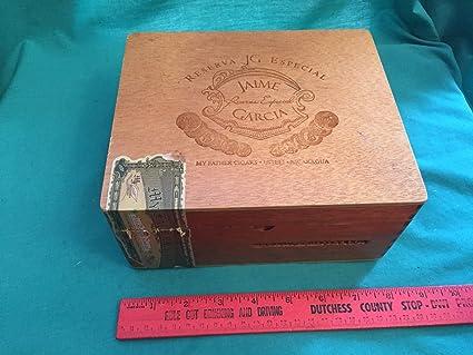 Amazoncom Vintage Jaime Garcia Wooden Cigar Box Reserva Especial