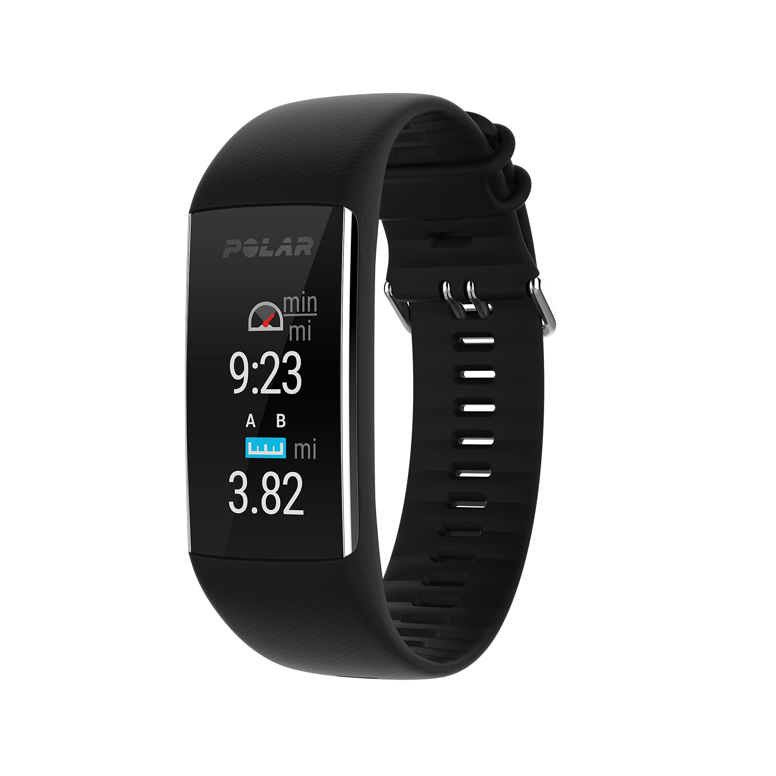 Polar A370 (Black, Medium/Large) GPS Fitness Band BUNDLE with Extra Silicone Band (White) & PlayBetter Portable Power Bank (2200mAh) | On-Wrist Heart Rate, 24/7 Activity Tracker by PlayBetter (Image #4)