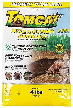 Gato Repelente de topos y Gopher gránulos (no se vende en AK)