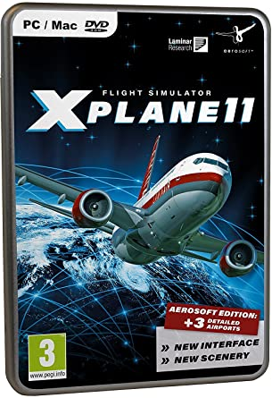 Flight Simulator X-Plane 11 (Mac/PC): windows: Computer and
