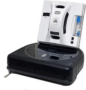 HOBOT-298 Window Cleaning Robot & LEGEE-688 Vacuum-Mop Talent Clean Robot