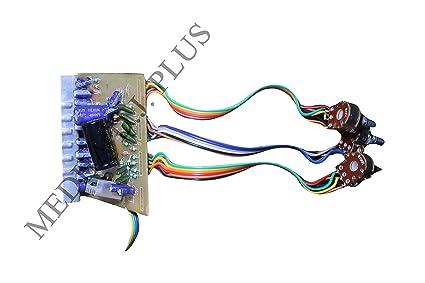 MEDHA DJ PLUS Stereo Audio Amplifier Circuit Kit 100 W Board Bass Treble  Balance 4440 IC
