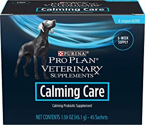 Purina Pro Plan Veterinary Supplements Calming Care Canine Formula Dog Supplements - 45 ct. Box