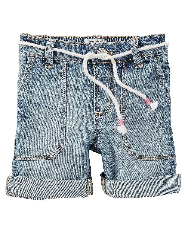 5 Kids OshKosh BGosh Little Girls Stretch Denim Shorts