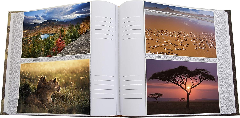 "for 200 Photos 6x4/"" HOL117 Kenro Holiday Series Memo Photo Album Global Traveller Design"