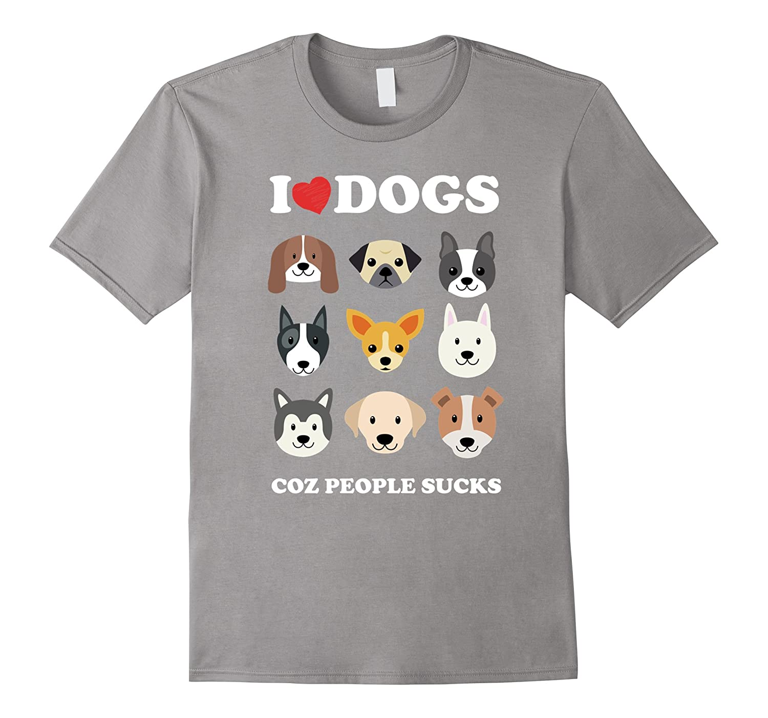 I love Dogs Tshirt – Dog Lovers Shirt – Dog Lover Tshirt ...