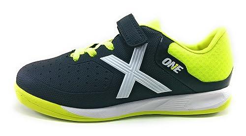 BOTA FUTBOL MUNICH ONE KID V SALA 17-Negro-30 EUR  Amazon.es  Zapatos y  complementos 0c487bd1b4351
