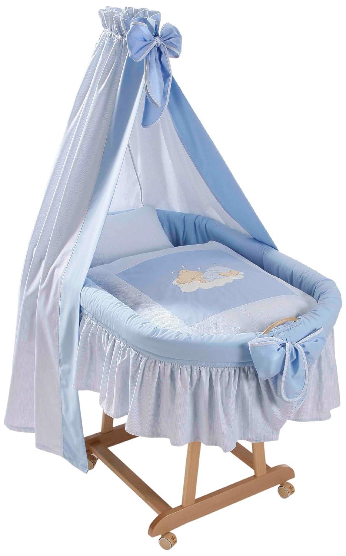 Easy Baby Stubenwagenset - Sleeping Bear Blau