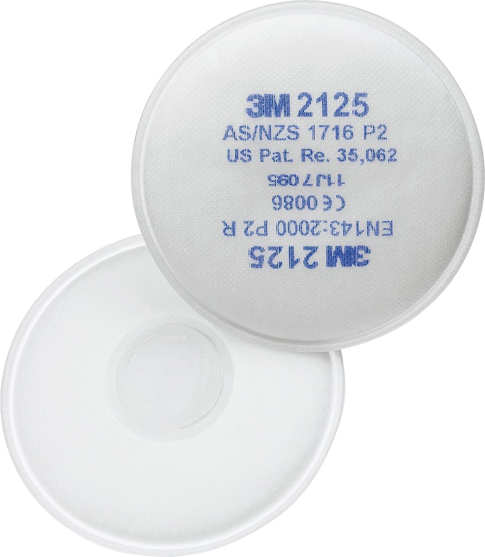 3M 70071091683 2125 P2 - Filtro de partículas (20 unidades, 10 pares)