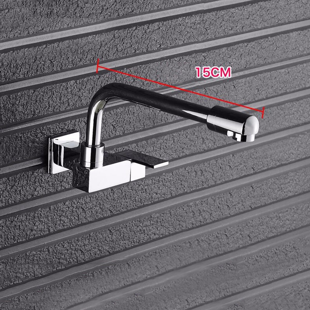 C2 MulFaucet Lengthening mop Pool Faucet Wall-Mounted Single Cold Balcony Laundry Pool mop Pool Kitchen Sink Faucet D1