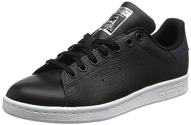promo code 6a921 674ce adidas Stan Smith J, Chaussures de Fitness Mixte Enfant, Noir NegbásPlamet  000