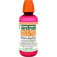Therabreath Healthy Smile oral Rinse - sparkle Mint | Fluoride & Xylitol - Fights Cavities for 24 Hours | Certified…