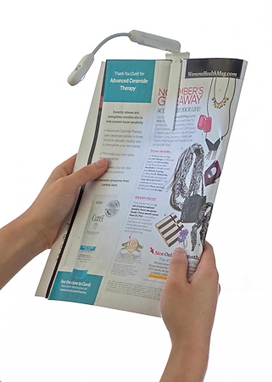 negro M-Edge e-Luminator Touch L/ámpara de lectura t/áctil para Kindle 3