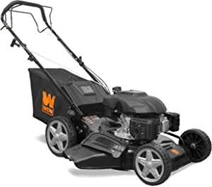 WEN LM2173 173cc 21-Inch Gas-Powered 4-in-1 Self-Propelled Lawn Mower, Black