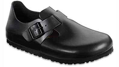 Amazoncom Birkenstock Womens London Leather Clog Mules Clogs