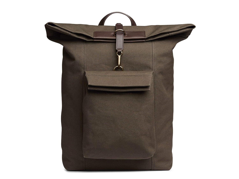 (ミスモ) Mismo Men`s ESCAPE Backpack - 自転車バックパック ARMY/DARK BROWN メンズスプリンターバックパック - カモジャカード (並行輸入品) One Size ARMY/DARK BROWN B07H2HTQZN