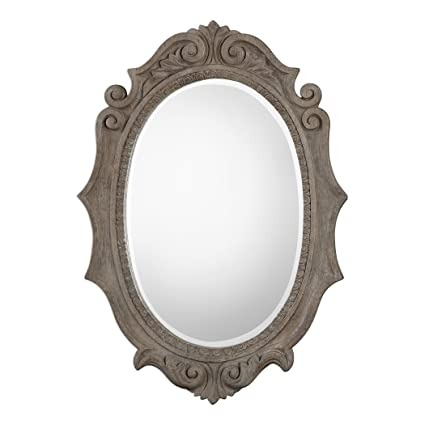 Decorative Arts Romantic Antique Mirror