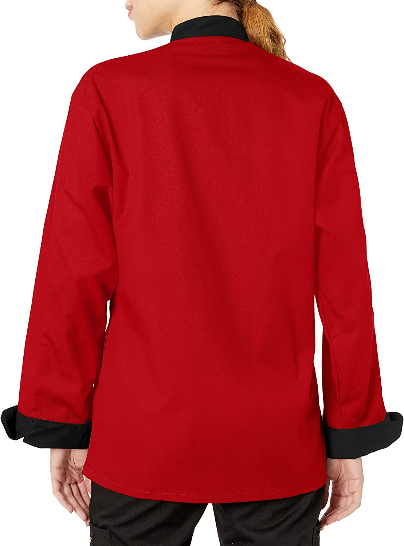 Uncommon Threads Unisex Newport Chef Coat: Clothing