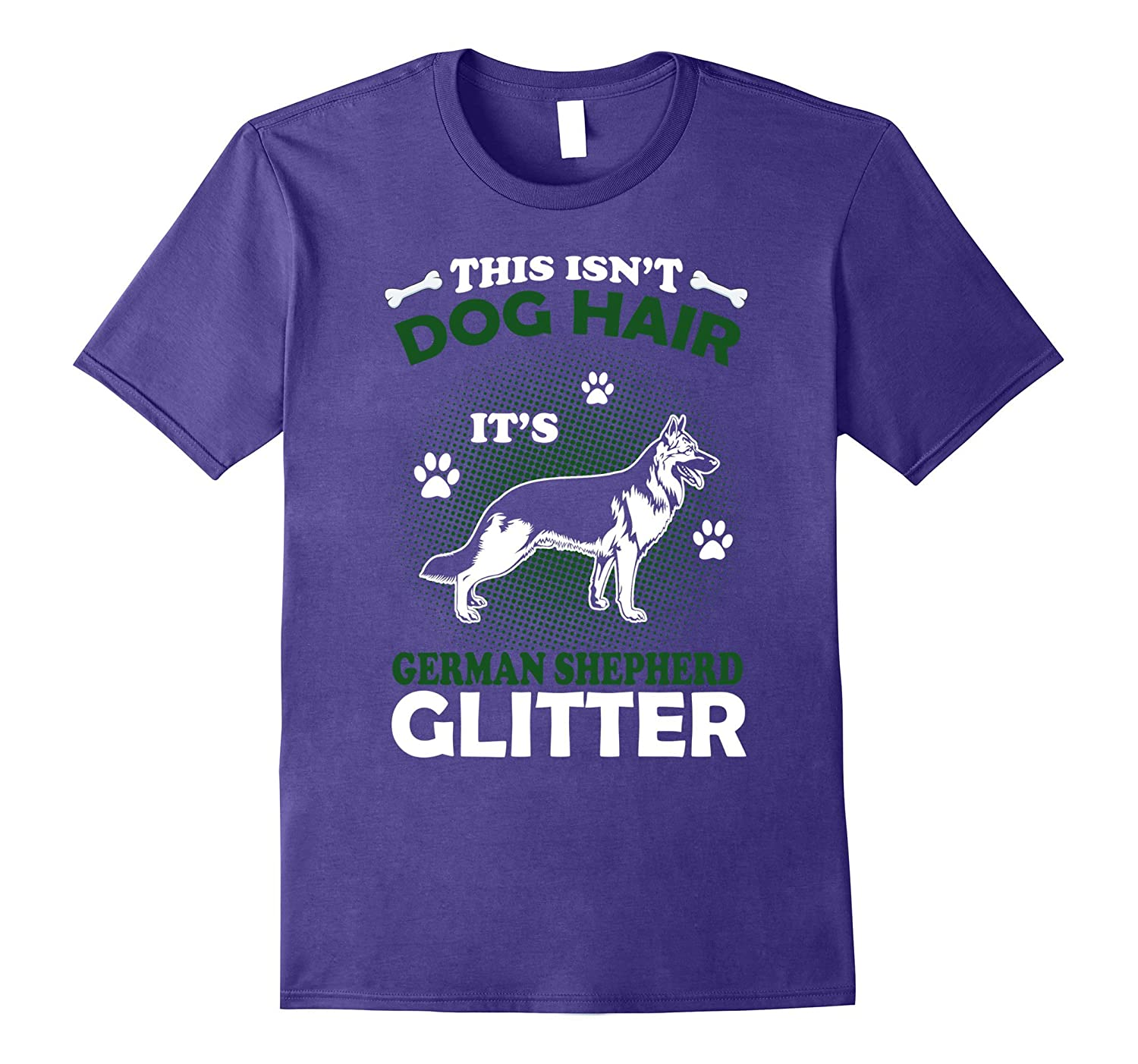 This Isn't Dog Hair It's German Shepherd Glitter T Shirt-FL