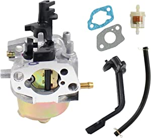 pro chaser P54173 H127-3 200cc Ruixing Carburetor for GX160 GX200 168FA 168FB 170F Honda Engine Fits Generac Power 0K95520119 GP3250 GP3300 Portable Generator 0066070 0066030 Pressure Washer