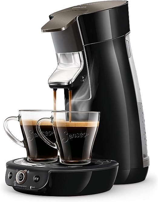 skintillant schwarz Philips HD6564//61 Kaffeemaschine