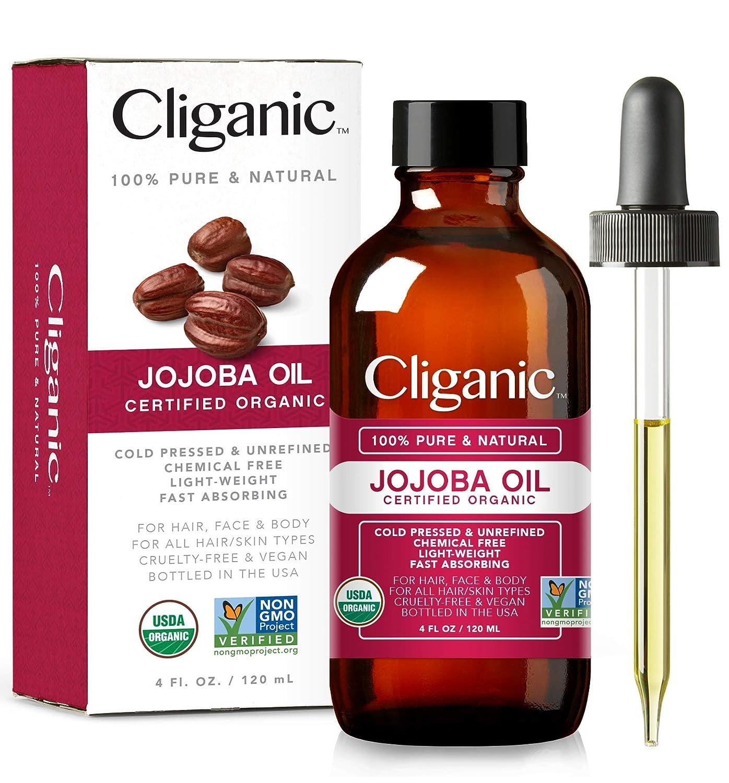Amazon.com: Cliganic USDA - Aceite de jojoba orgánico, 100 ...