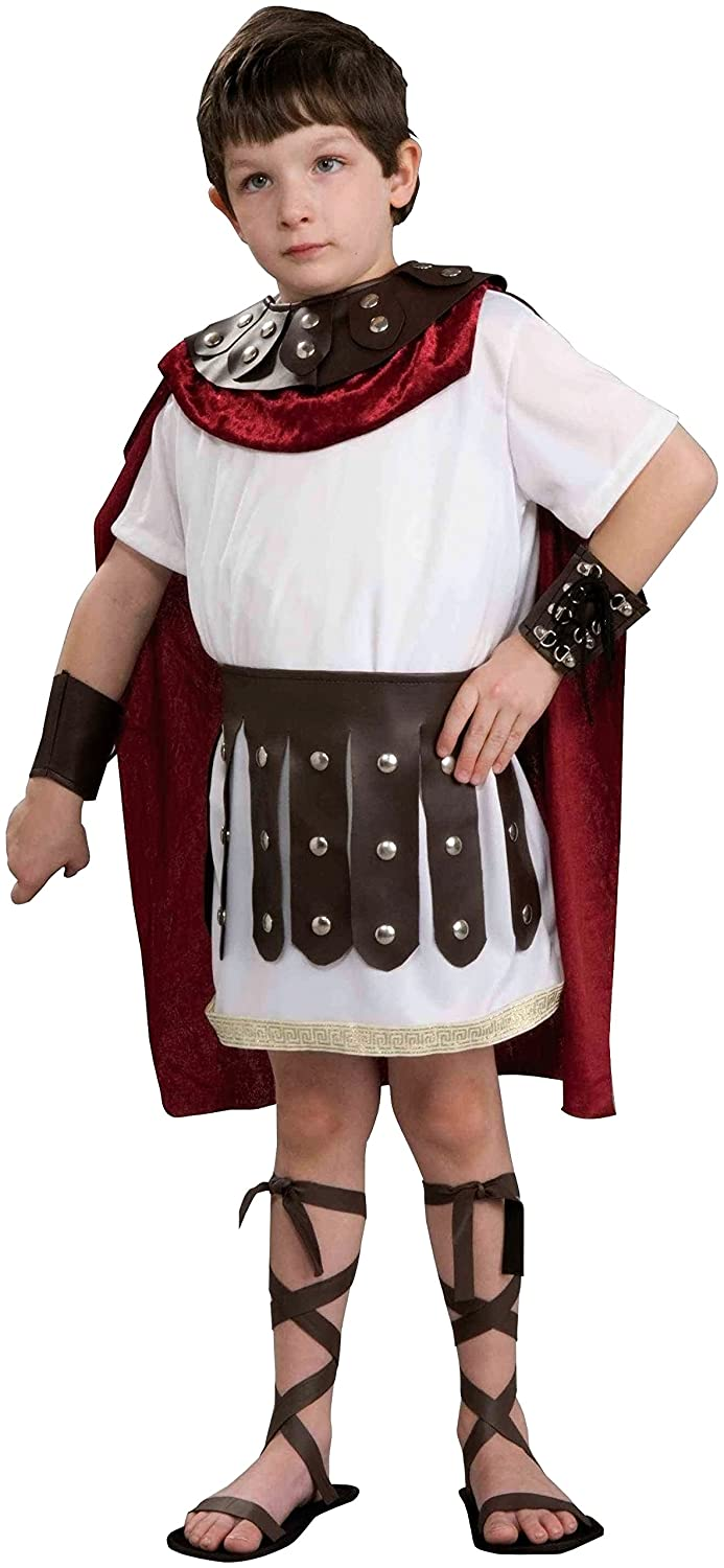 amazoncom kids roman gladiator soldier boys halloween costume child large toys u0026 games