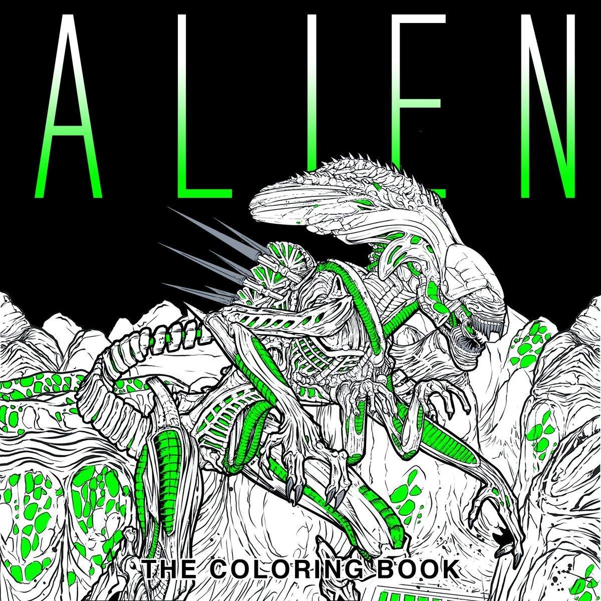 Amazon.com: Alien: The Coloring Book (9781785653766): Titan Books: Books