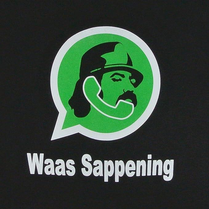 Cheech And Chong Shirt Waas Sappening Whatsapp Parody 2xl Amazonca