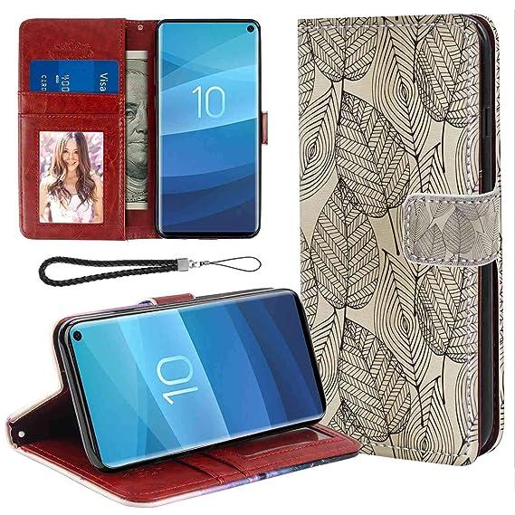 Autumn pattern Samsung S10 Case