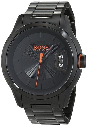 26eaa274cb2 Hugo Boss Orange Hong Kong Mens Quartz Analogue Classic Silver Stainless  Steel Bracelet 1550005  Amazon.co.uk  Watches