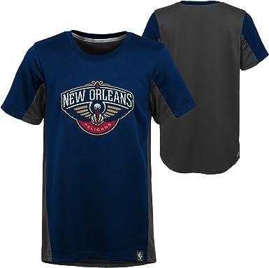 Youth Medium 10-12 Outerstuff NBA NBA Youth Boys Sacramento Kings Curved Ball Short Sleeve Performance Tee Purple