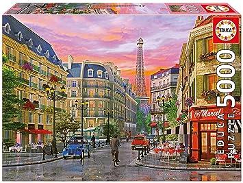 Piezas16022 Educa ParísDDavisonPuzzle De Puzzles Rue 5000 rhQsdt